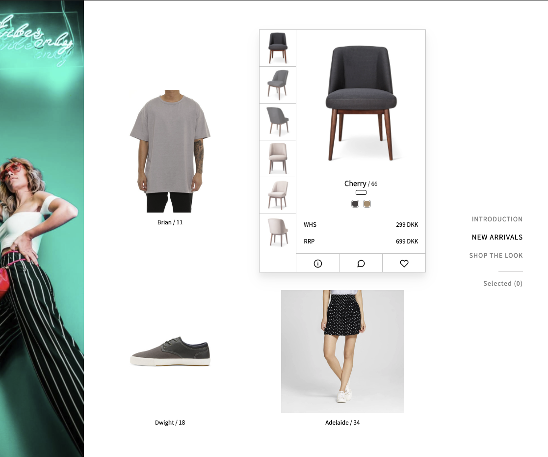 The free TRAEDE Virtual Showroom product will help brands show products and collections with ease