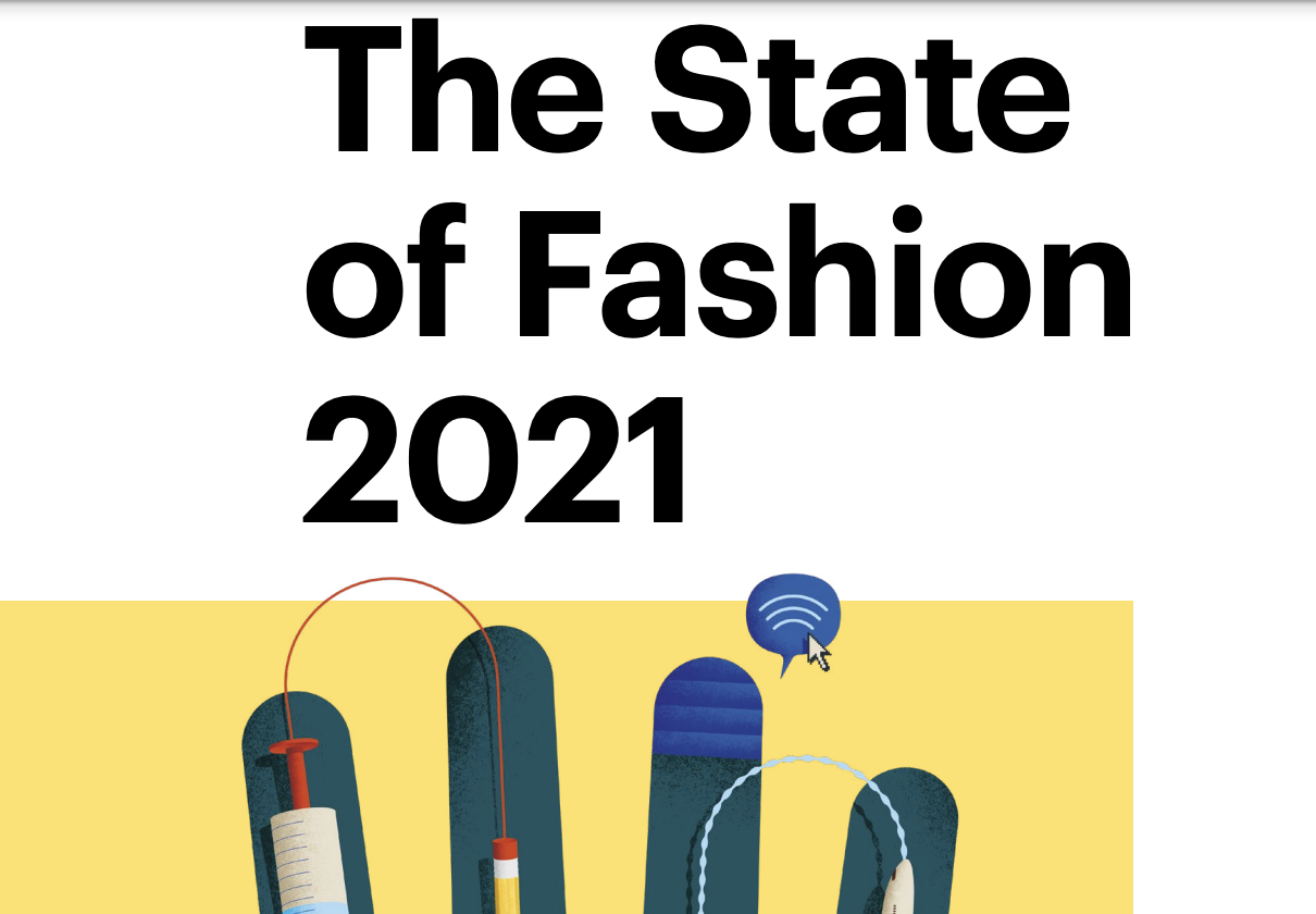10 defining themes for the business of fashion for 2021